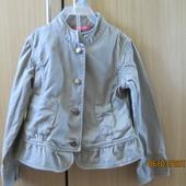 джинсова курточка John Lewis на 5-6 р.