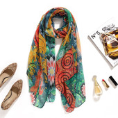 Шикарный палантин , шарф, платок от Desigual