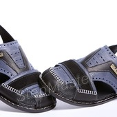 Сандалии мужские кожаные Kristan ST Blue-Black
