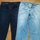 Джинсовые штаны 54 размер, цена за все