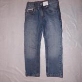 4-5 лет, р. 104-110, новые джинсы узкачи Dopo Dopo с этикетками