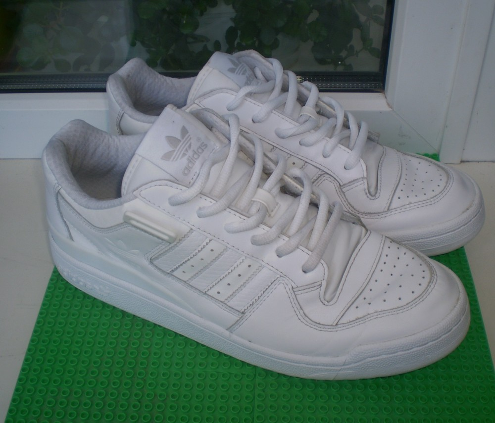 кроссовки Adidas р. 45.5 (11), стелька 29 см ( по замерам ) кожа сост.хорошее фото №1