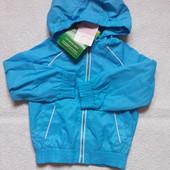 Impidimpi Куртка-ветровка на 74-80,86-92 см Германия.