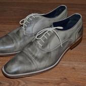 Р. 43 - 30 см. Giorgio 1958 hendmade Италия. Отличные мужские туфли, замшевые фирменные