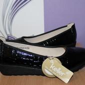 Туфли Dr Keller кожа разм 38.5-39 по стельке 25 см