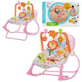 Шезлонг-кресло-качалка Розовый кролик, Bunny BB 4544