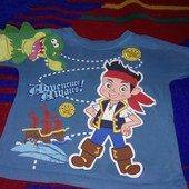 Футболка Пираты Нетландии 2-3.5 года