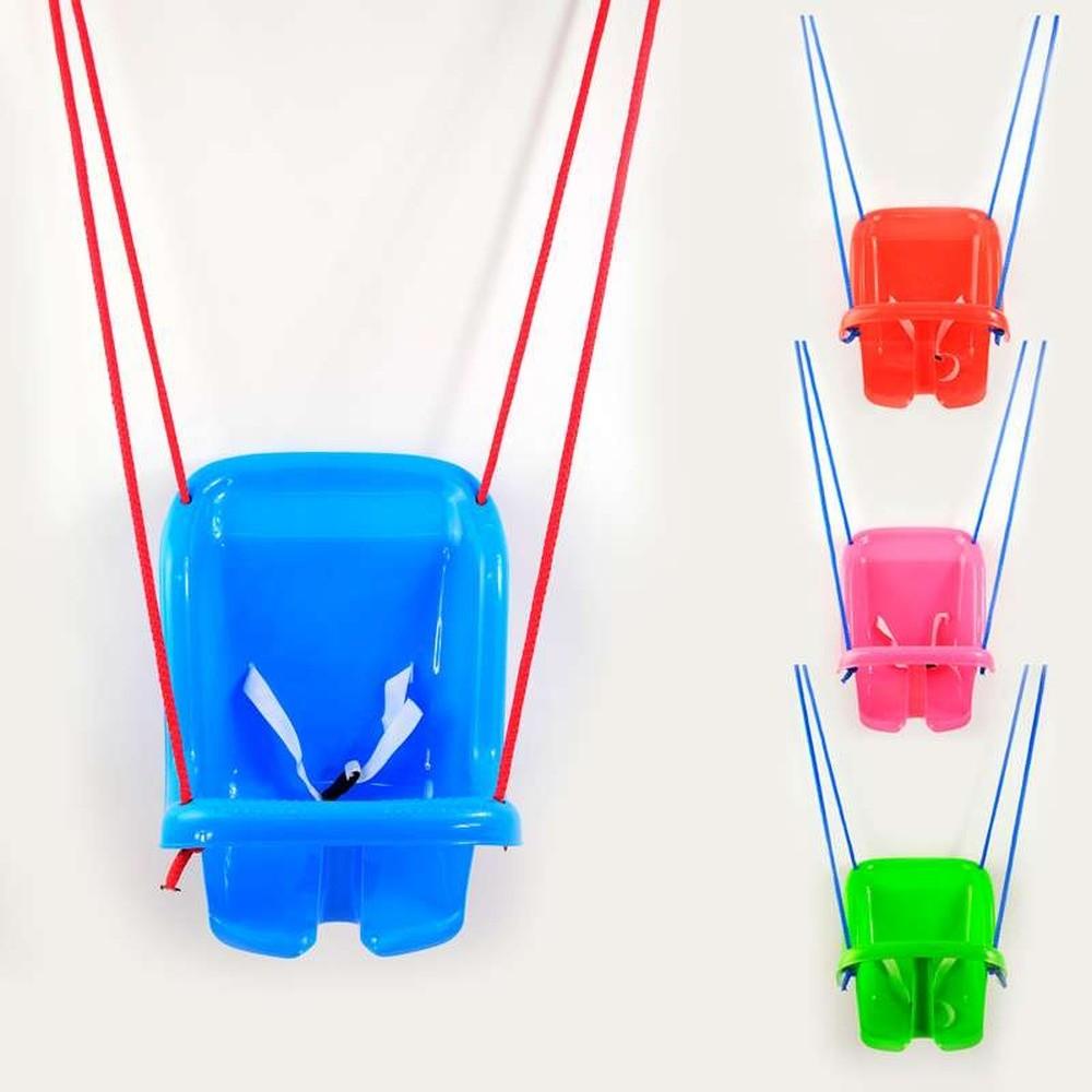 Качели подвесные пластиковые с высокой спинкой качель Технок 1660 фото №1