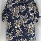 """Рубашка мужская """"Half Moon Bay"""" с принтом."""