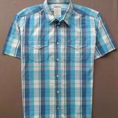 """Рубашка мужская """"Tom Tailor"""" в клеточку."""