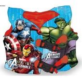 Жилет детский надувной Супергерои, 40см Артикул: LA17020