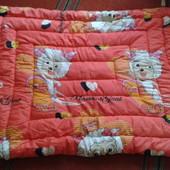одеяло шерсть на овчине + подарок пододеяльник