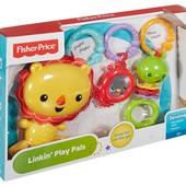Набір брязкалець на візок Linkin Play Pals dfp75 від Fisher Price