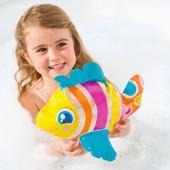 Надувная игрушка для пляжа, ванной Intex Рыбка