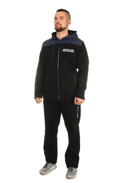 Теплый мужской спортивный костюм сезон зима 4  цвета фото №1