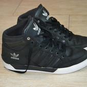 Adidas 43.5-43р слипоны кроссовки Оригинал. кожаные