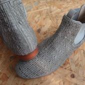 Фирменные ботинки Hogl Австрия размер 37-длина стельки-23,5 см