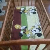 Кроватка Наталка с матрасом