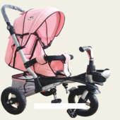 Велосипед-коляска TR20104, Аналог crosser T350 розовый