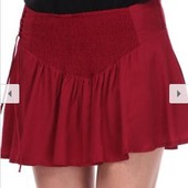 Распродажа - Юбка-шорты размер M от Pull & Bear красные черные юбка шорты короткая