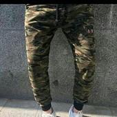 Спортивные штаны трикотаж Турция размеры S-XL