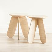 Детский деревянный табурет стульчик