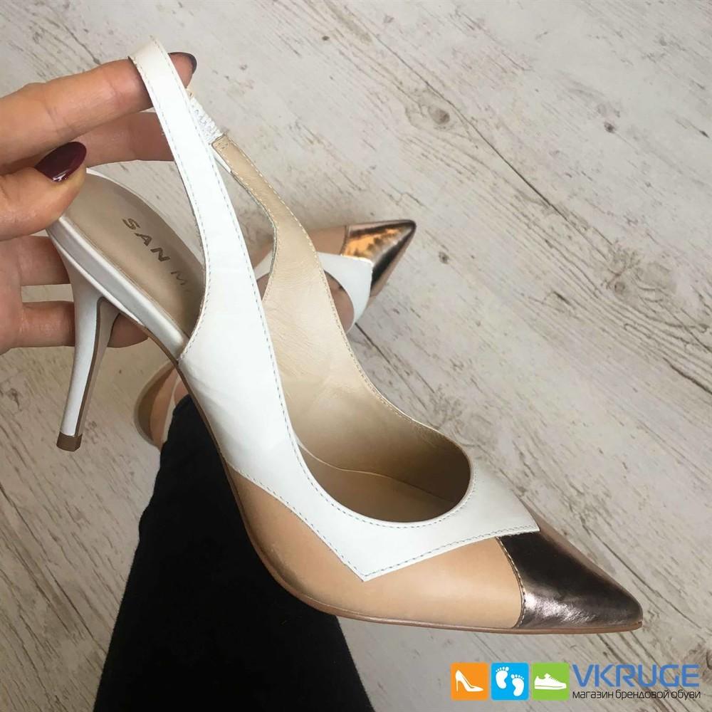 Туфли женские из натуральной кожи San Marina 38 размер (арт. 2601) фото №1