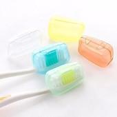 Портативный пластиковый чехол коробочка крышка для зубной щетки.
