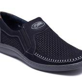 Туфли мокасины стильные натуральная кожа 036пс
