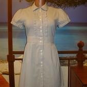 Платье-рубашка в полоску хлопковая\хлопок р.8-10  Oasis
