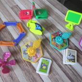 Игрушки из киндер-сюрприза игры разные, леталки, крутилки