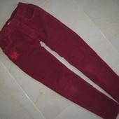 Вельветовые штаны на 122-128 см