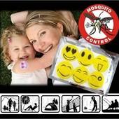 Наклейки-смайлики от комаров, пропитанные маслом Цитронеллы. Не токсичны!!!!