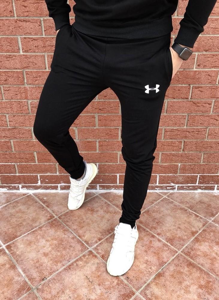 Штаны спортивные мужские штани спортивні чоловічі трикотаж фото №1