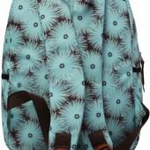 Рюкзак школьный подростковый оригинальный в цветах