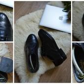 Стильные кожаные туфли-броги Clarks р-р 42,5