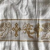 Крестильное полотенце Плед Крыжма Турция 100% хлопок