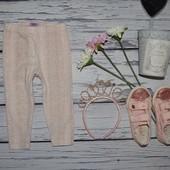 12 - 18 месяцев 86 см Яркие модные фирменные легинсы лосины кожа питона