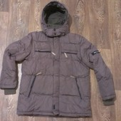 классная теплая куртка, как новая, р.52-54