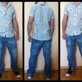 Стильная рубаха Gallice (размер М)