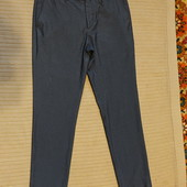 Очень классные современные серые брюки Burton menswear Skinny fit 32 R