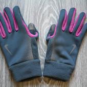 Спортивные фирменные перчатки р. 40-42