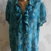 Шифоновая блузка Bhs classics в идеальном состоянии Батал