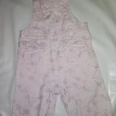 комбинезон-штаны на 3-6 мес