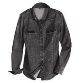 отличная джинсовая рубашка Esmara. Германия. 40 евро