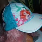 Хлопковая бейсболка Disney 2-4года,на голову 50-54 см,сток