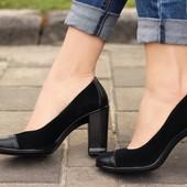 Туфли кожаные в офис 36 37 38