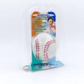 Мяч прыгающий для реакции и реабилитации Bounce Ball 02-BS: резина, диаметр 60мм, вес 70г