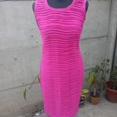 яркое платье с интересной фактурной ткани