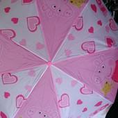 Суперский зонтик для любителей Пеппы. Складной.